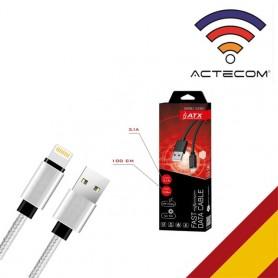 Cable iPhone Cable USB para iPhone 11 Pro Max X XR XS 8 7 6 6s 5 5s cargador de datos iPad Cable, Cable para Iphone