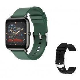 Reloj inteligente, deportivo, resistente al agua, con control del ritmo cardíaco, llamadas/mensajes, recordatorios