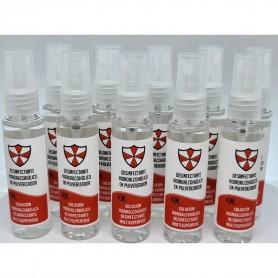 10x Gel hidroalcohólico con alcohol antibacterial