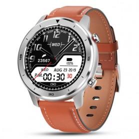 Reloj inteligente para hombre resistente al agua con pantalla táctil redonda, control del ritmo cardíaco y la presión sanguínea