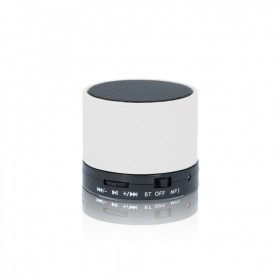 MINI ALTAVOZ BLUETOOTH FOREVER BS-100 - BLANCO