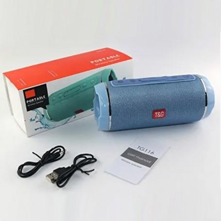 ALTAVOZ BLUETOOTH TG Subwofer Alta Calidad sonido TG116 SPEAKER bateria portatil