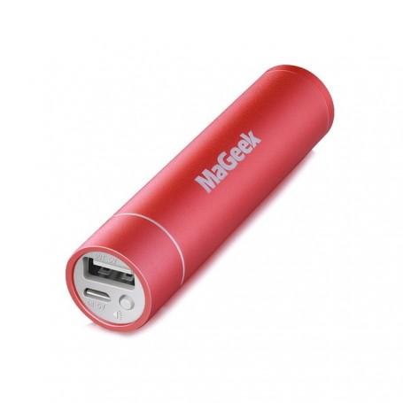 Batería Externa mini de 3350mAh para iPhone, iPad, Xiaomi, Samsung y LG