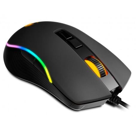 Ratón Gaming - KROM KANE Sensor óptico AVAGO A305 RGB LED