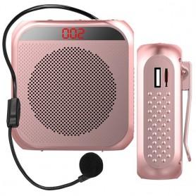Amplificador de voz portátil para profesores