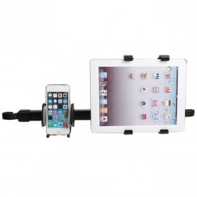 Soporte para teléfono y tablet para reposacabezas de coche