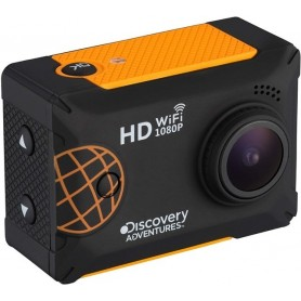 "Discovery Adventures Full HD 1080P WiFi Expedition - Cámara de acción con Pantalla LCD, 5,08 cm (2""), Color Negro"