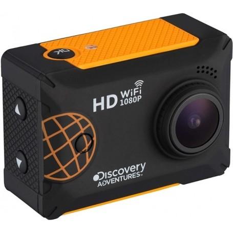 """Discovery Adventures Full HD 1080P WiFi Expedition - Cámara de acción con Pantalla LCD, 5,08 cm (2""""), Color Negro"""