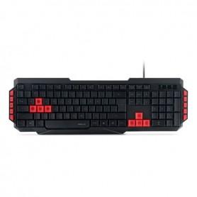 Speedlink Ludicium Gaming Keyboard, teclado español para juegos, USB, acceso directo a funciones multimedia, bloque numérico