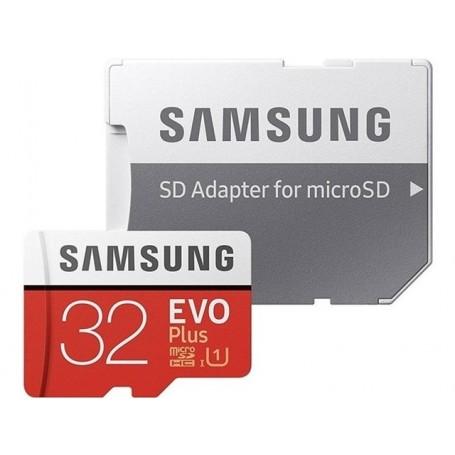 Samsung EVO PLUS, tarjeta de memoria externa 32GB, 64Gb, 128GB, 256GB y 512GB, MicroSD