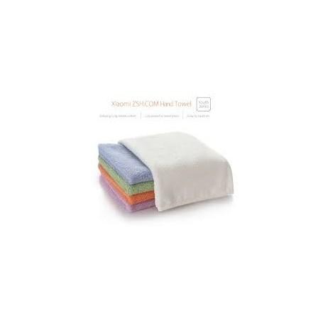 Xiaomi Toalla de manos ZSH, 100% algodón, suave, actibacteriana, no daña la piel, azul, blanca, verde