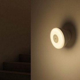 Xiaomi Mi Motion Activated Night Light 2, luz nocturna con sensor de movimiento , LED, brillo ajustable, detector cuerpo humano