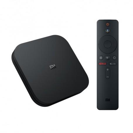 Mi Box 4S, reproductor streaming en 4K Ultra HD, asistente de Google y Chromecast, versión global, Android