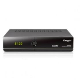 Engel RS8100Y tV set-top boxes IPTV, Satélite Alta Definición Total Negro, 2 puertos USB, 1 sintonizador, HDMI, jack CD,Ethernet