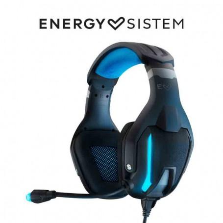 Energy Sistem Headphones ESG 5 Shock(Gaming Auriculares:Movil,PC,todas consolas,Vibration, LED Light, Cloth ear cushions)-Cascos