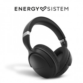 Energy Sistem Headphones BT Travel 7 ANC(Active Noice Cancelling Auriculares,Control Talk,Plegable,16H batería)Negro