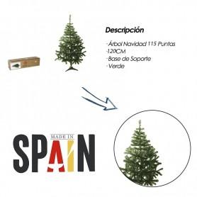 Árbol Navidad Verde 120CM 150CM 180CM Artificial Árboles Base de Soporte Plástico para Fiesta Navidad Decoración Navideña