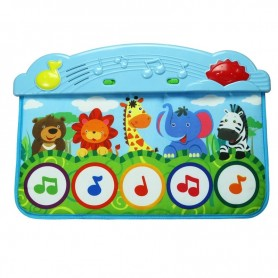 Manta interactiva musical: Patadítas Musicales (Accesorio para cunas - Juguete para bebe cunas - Playmats