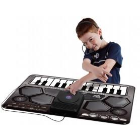Manta interactiva musical: Mesa de DJ - Mesa de mezclas (Alfombra musical para niños - Playmats)
