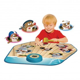 Manta interactiva: Pega a los Topos (Alfombra interactiva de niños - Juego de los topos - Playmats)