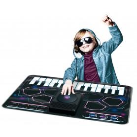 Manta interactiva musical: DJ Mixer- Mesa de mezclas (Alfombra Mesa DJ para niños - Playmats)