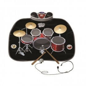 Manta interactiva musical: Batería (Alfombra musical para niños - Playmats)