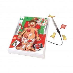 Operación Loca: Juego de Mesa operación ( juego de operar, juego de médicos, juego de habilidad, juego para niños, crazy doctor)