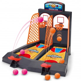 Juego de mesa: Mini Basket ( juego de basket, juego de habilidad, juego de encestar, juego para 2 niños )