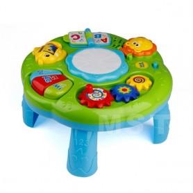 Instrumento Musical infantil para bebé, mesa de aprendizaje, animales de juguete, Piano, aprendizaje temprano, Centro de Activid