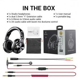 Auriculares A71 con micrófono, para PC, PS4, Xbox One