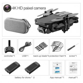 Mini Dron 4K 2020 P HD con cámara, WiFi, FPV, presión de aire, mantenimiento de altitud
